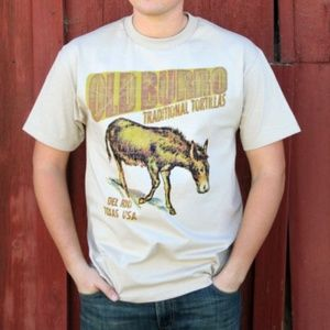 Old Burro Traditional Tortillas Graphic Tee Texas
